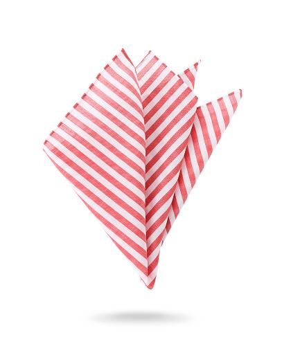 Pochette rouge et blanche